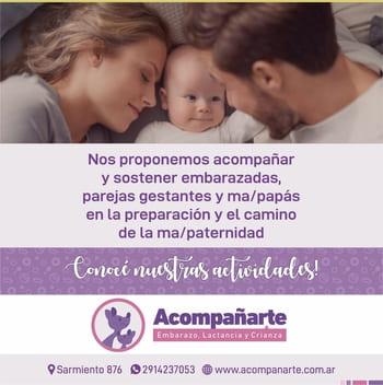 Acompañarte Embarazo, Lactancia y Crianza